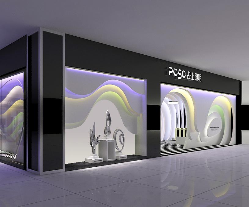 品上照明品牌设计/空间展厅设计案例