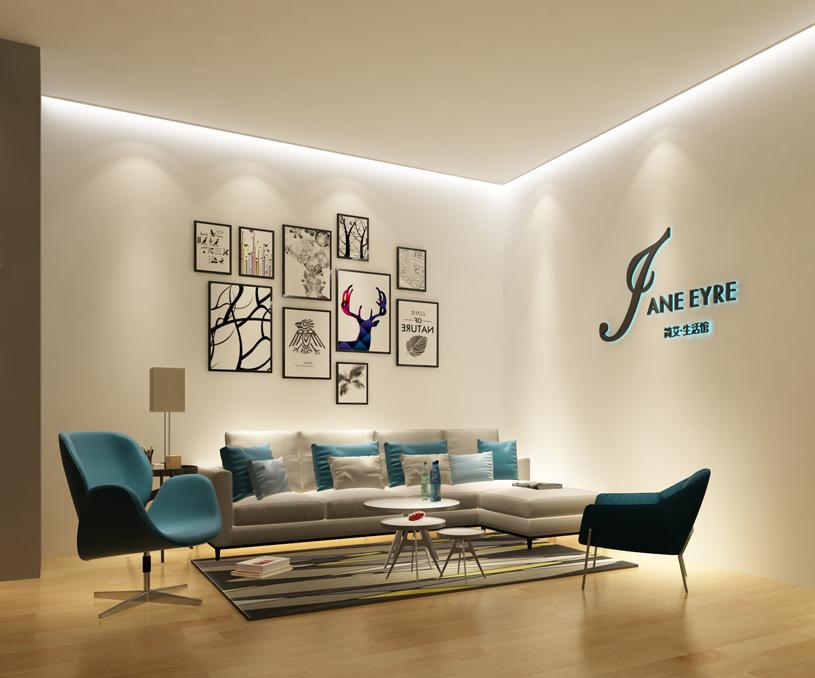 简艾家居生活馆空间设计/展厅设计案例