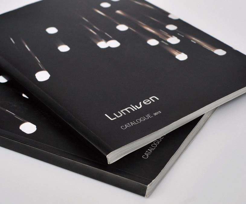 lumive灯饰画册设计案例