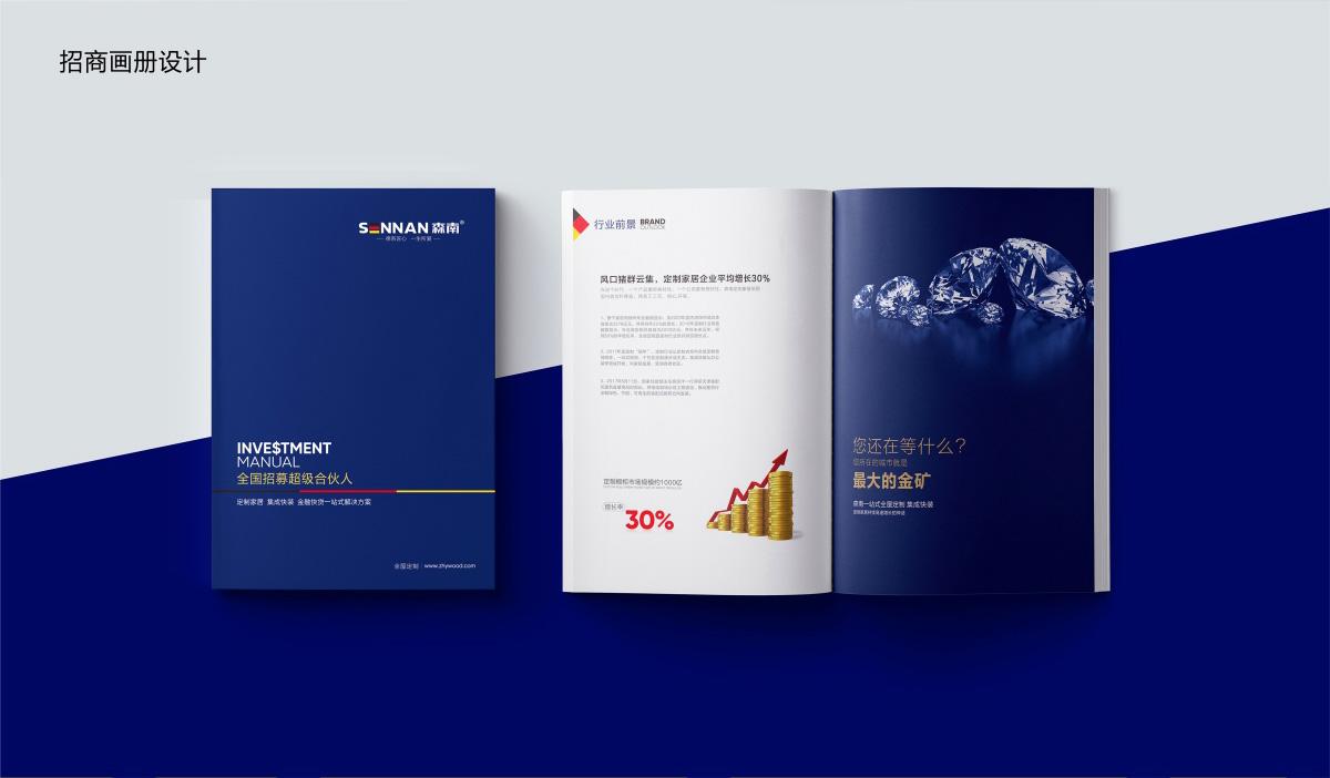 森南公司品牌形象/宣传画册/LOGO设计25
