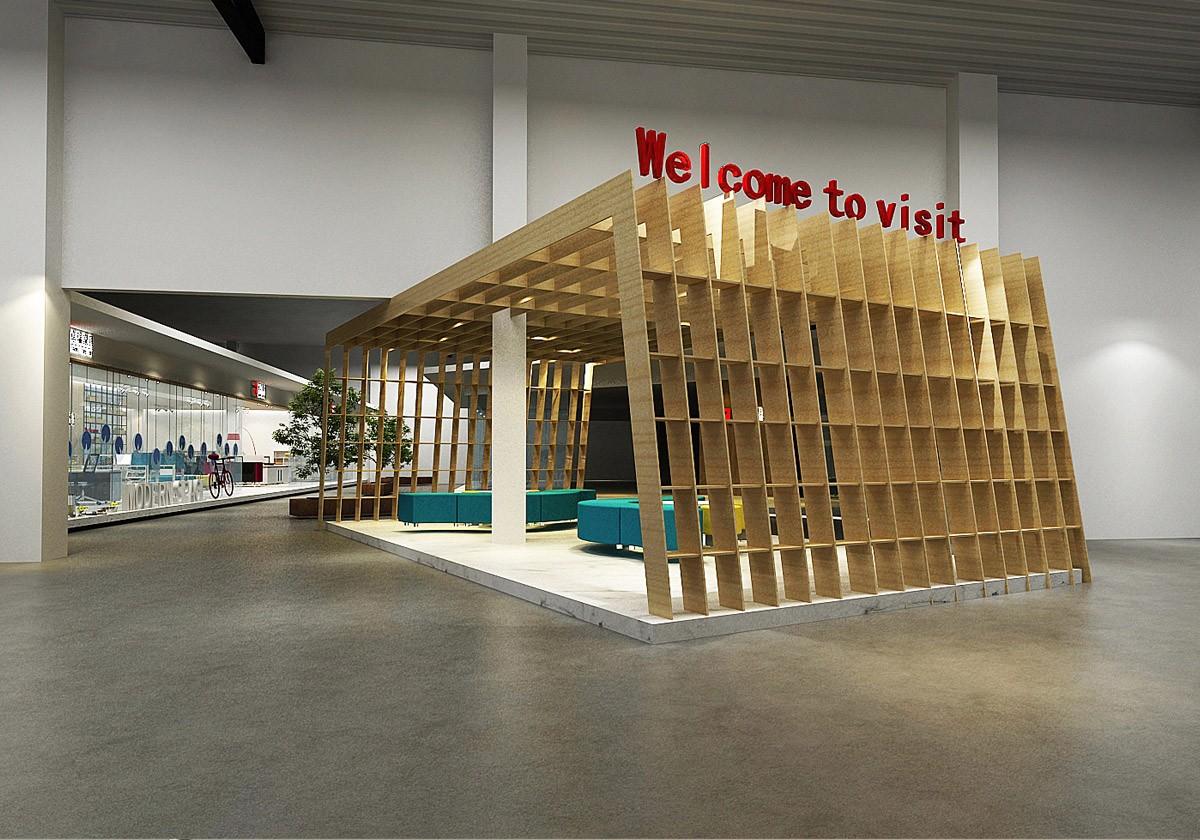 卓瑞家具展厅设计/空间设计效果图7