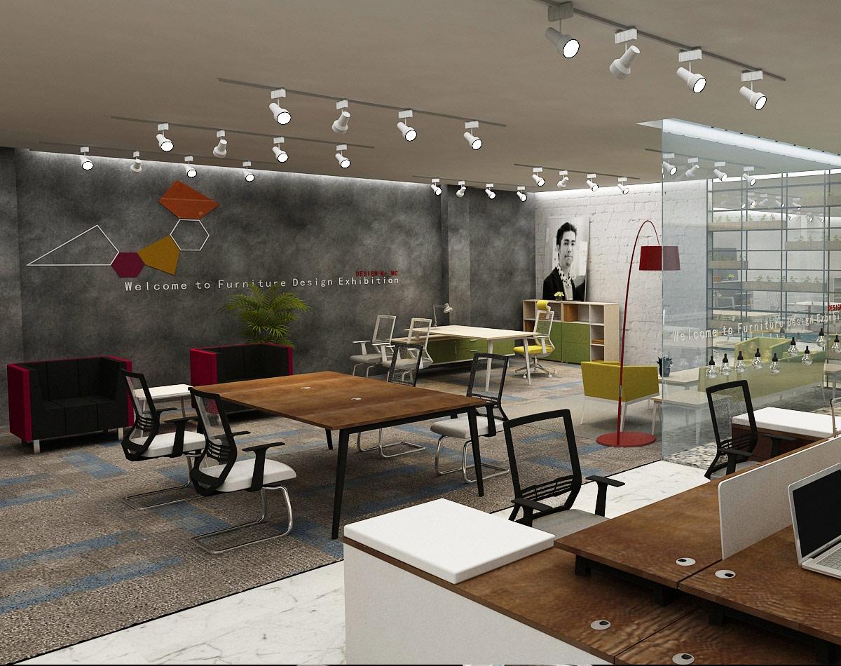卓瑞家具展厅设计/空间设计效果图9
