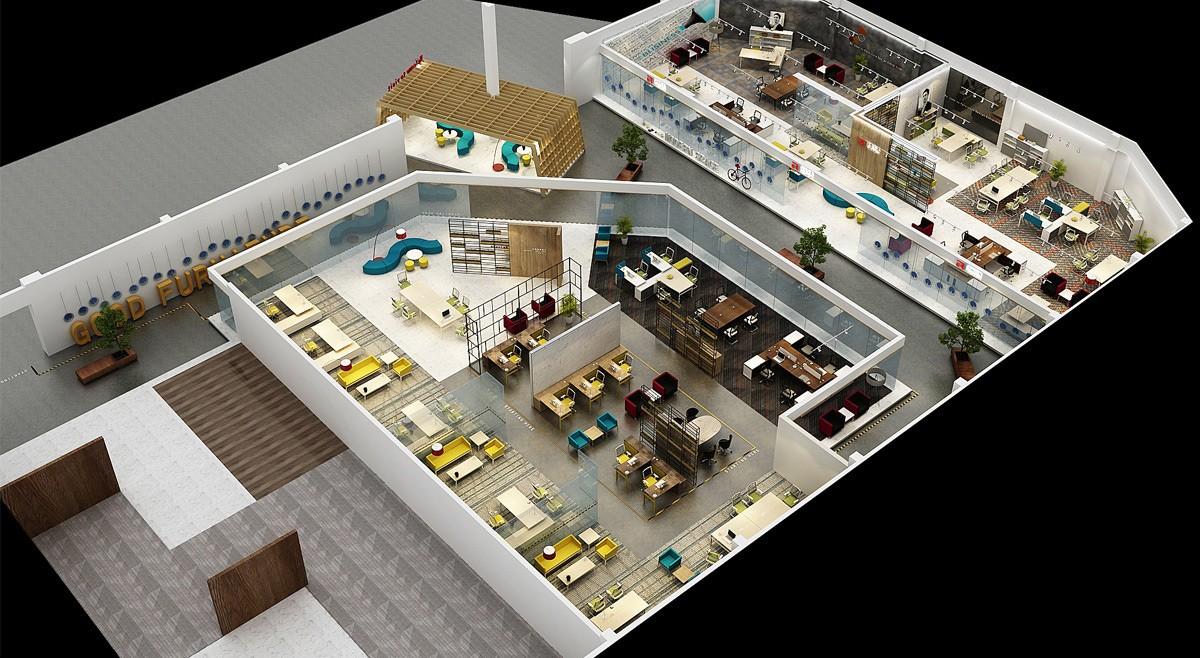 具展厅设计/空间设计效果图10