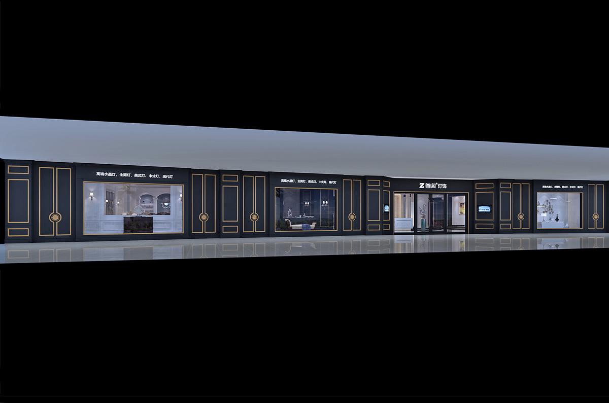 尊阁家居品牌设计/展厅设计效果图