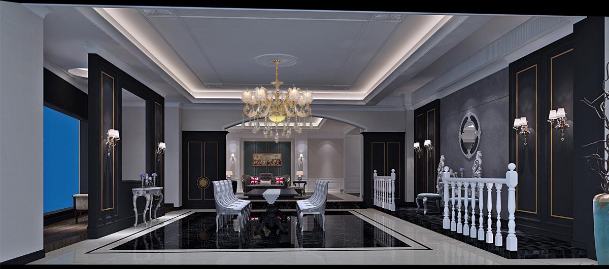 尊阁家居品牌设计/展厅设计效果图2