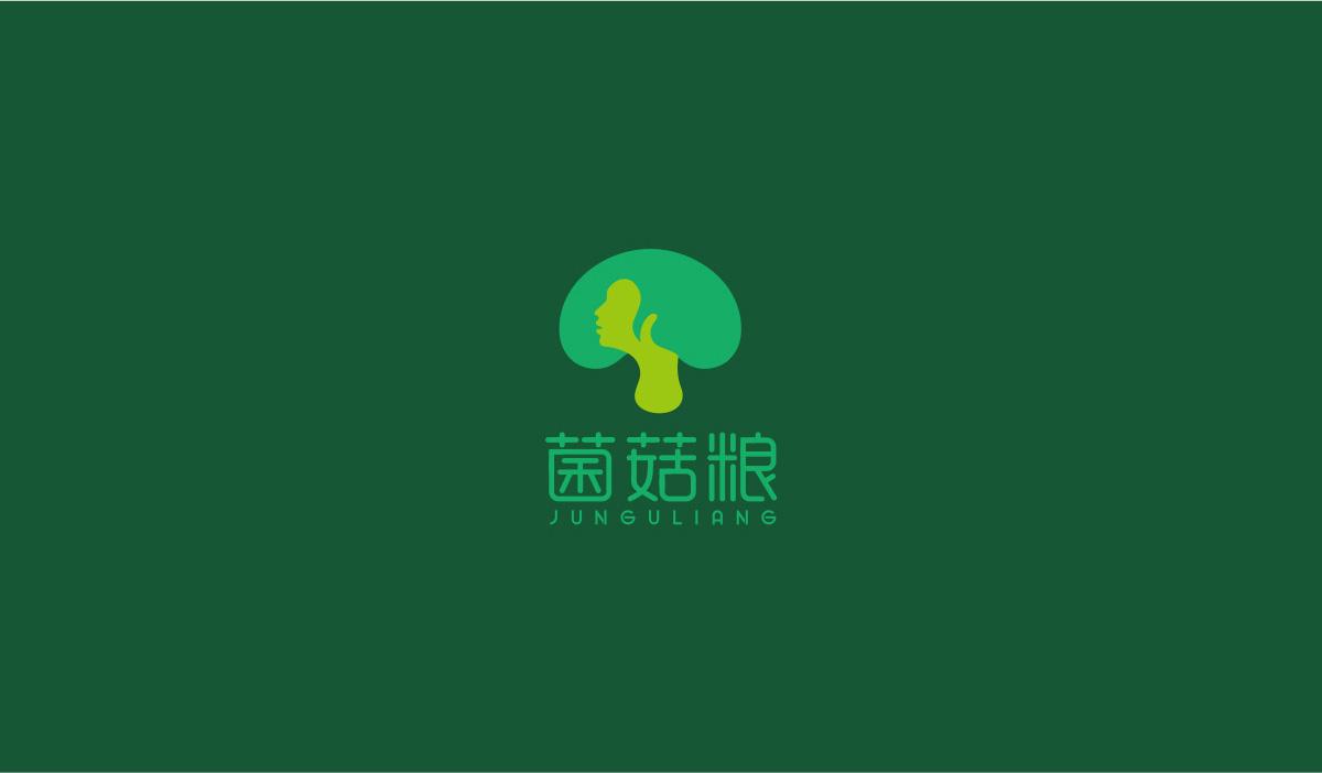 菌菇粮品牌策划/VI设计/LOGO设计效果图1