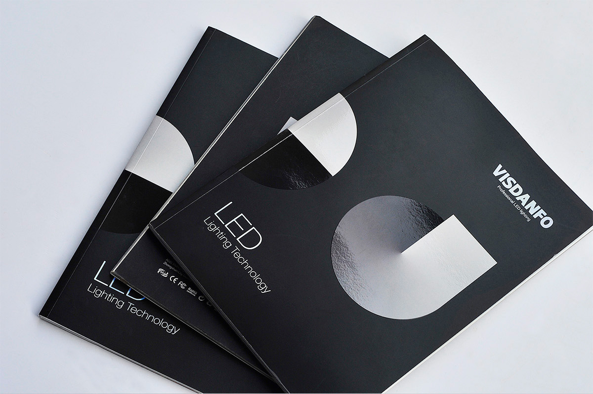 威斯丹佛照明画册设计/包装设计效果图