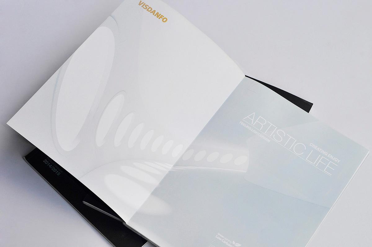 威斯丹佛照明画册设计/包装设计效果图1