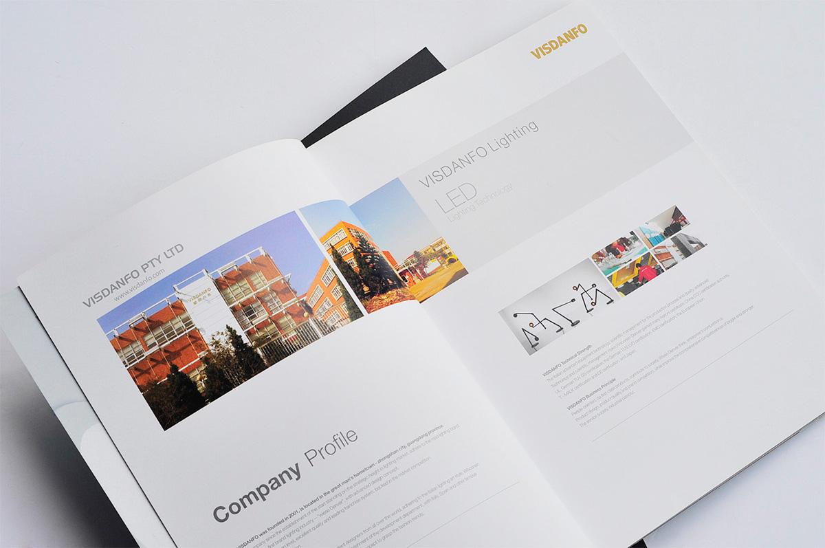 威斯丹佛照明画册设计/包装设计效果图2