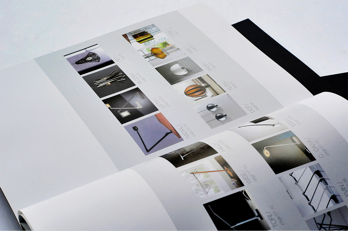 威斯丹佛照明画册设计/包装设计效果图3