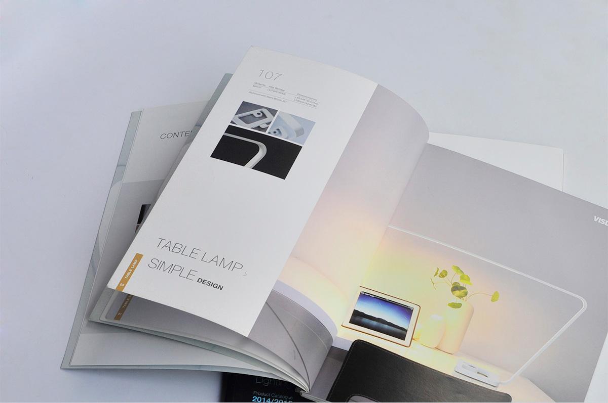 威斯丹佛照明画册设计/包装设计效果图4