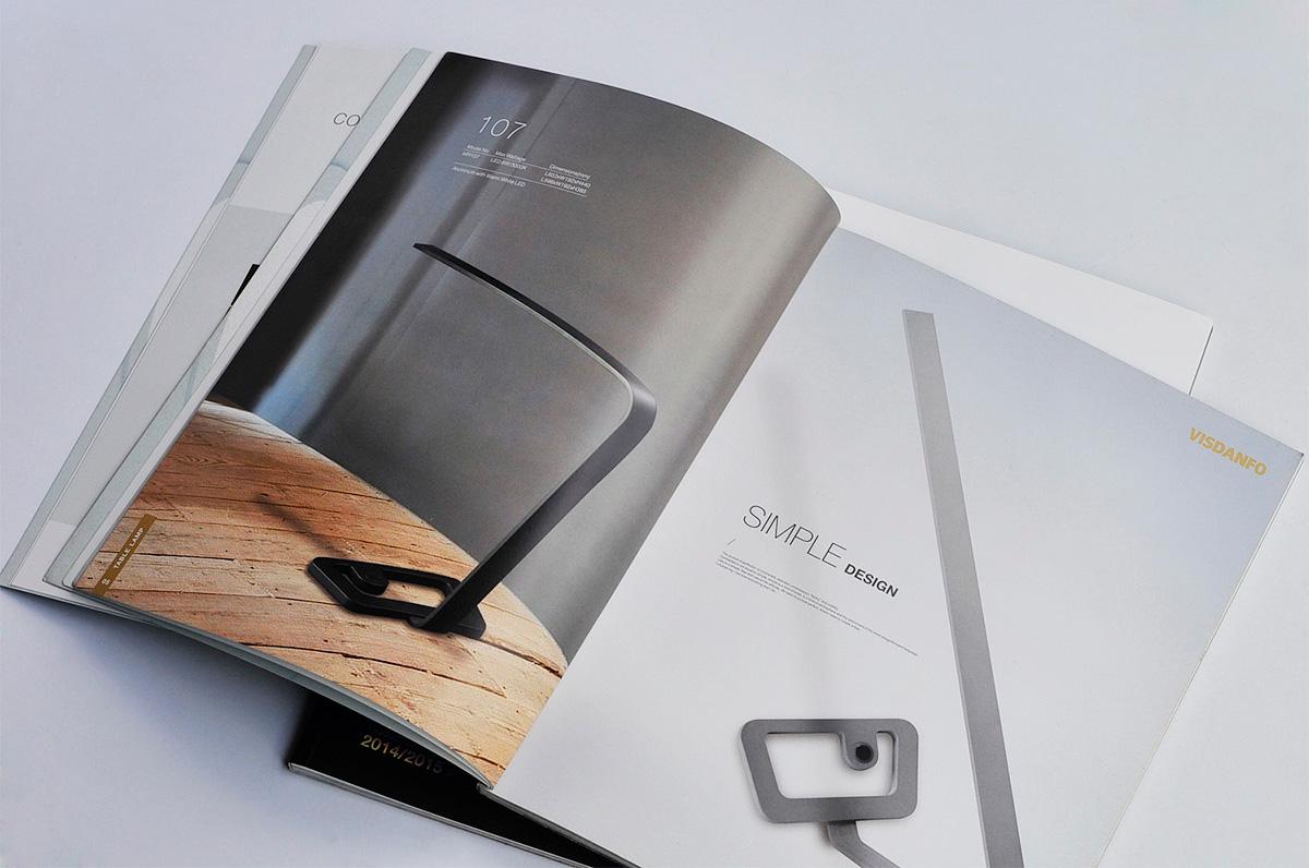 威斯丹佛照明画册设计/包装设计效果图5
