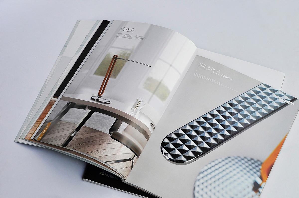 威斯丹佛照明画册设计/包装设计效果图6