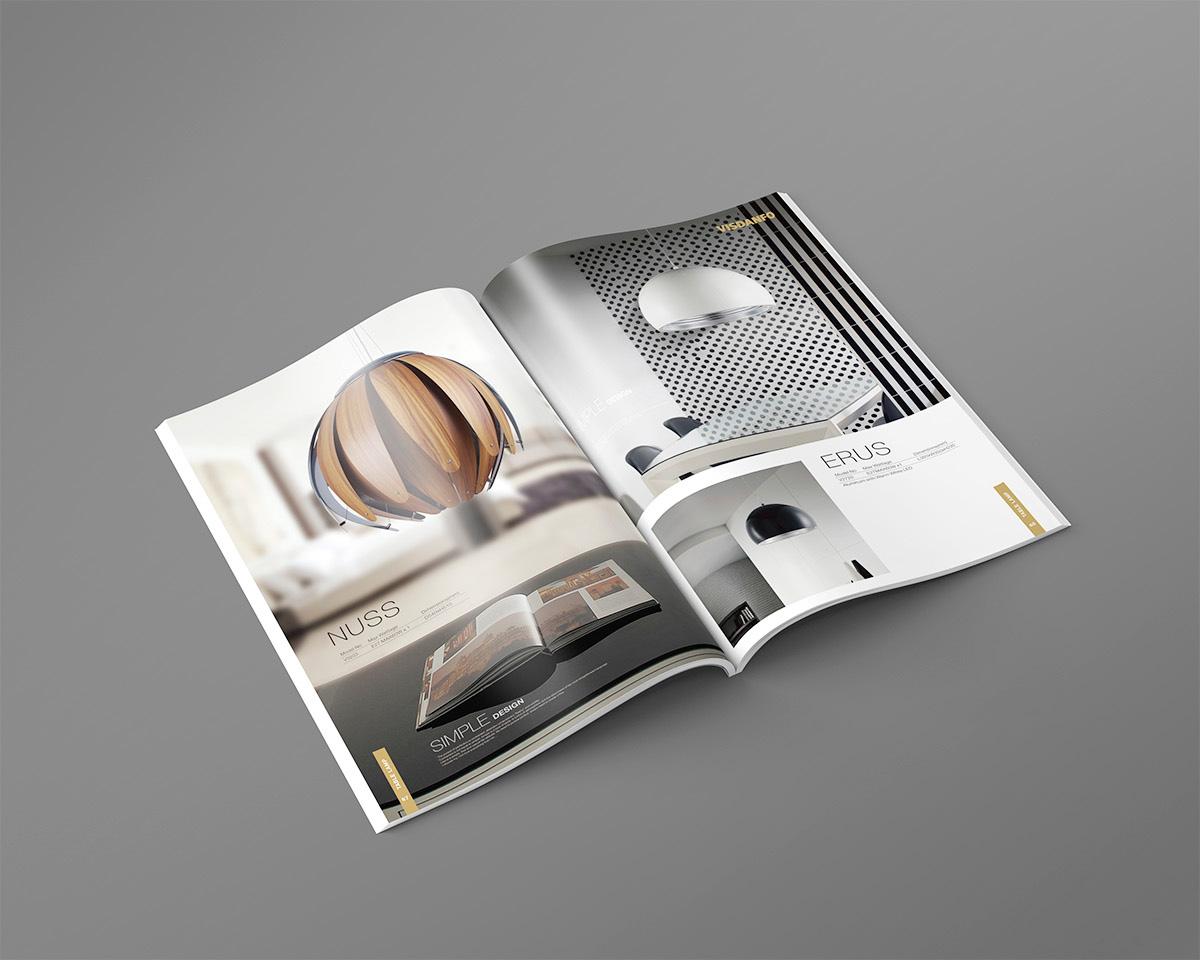 威斯丹佛照明画册设计/包装设计效果图9