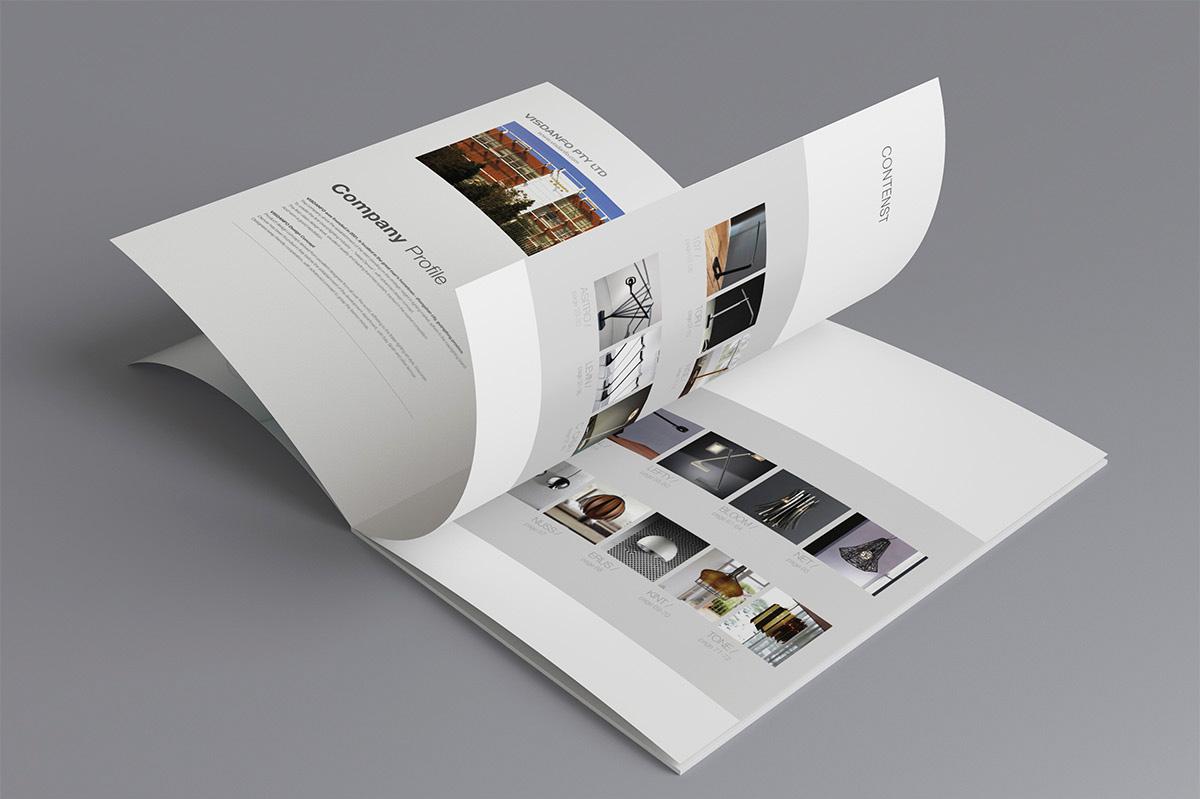 威斯丹佛照明畫冊設計/包裝設計效果圖10