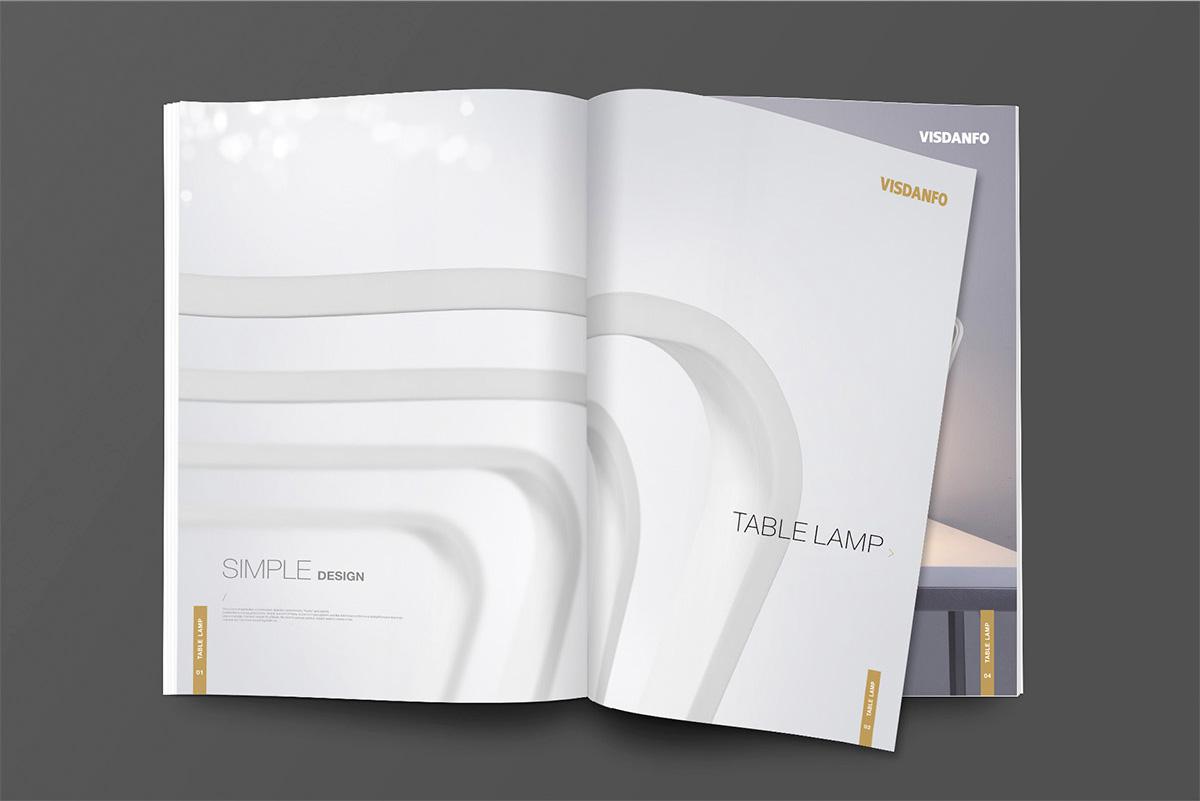 威斯丹佛照明畫冊設計/包裝設計效果圖11